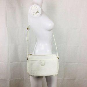 Liz Claiborne Vtg 1980s Leather Crossbody Bag